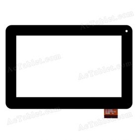 CTP225-070-A V2.0 Digitizer Glass Touch Screen Replacement for 7 Inch MID Tablet PC