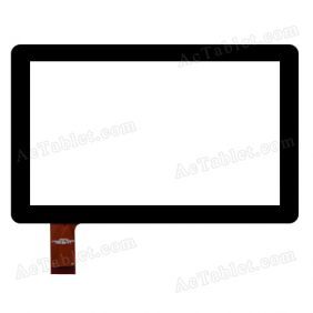 HOTATOUCH C179109A1-PG FPC664DR Digitizer Glass Touch Screen Replacement for 7 Inch MID Tablet PC