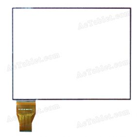 ECT-FPC-097-002-B-V0.3 Digitizer Glass Touch Screen Replacement for 9.7 Inch MID Tablet PC
