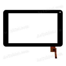 TOPSUN_G7043_A1 Digitizer Glass Touch Screen Replacement for 7 Inch MID Tablet PC