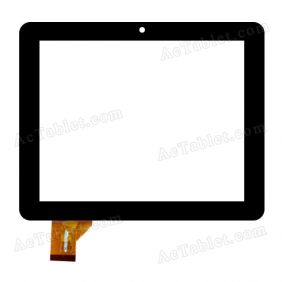 SG5409A-FPC-V0 Digitizer Glass Touch Screen Replacement for 8 Inch MID Tablet PC