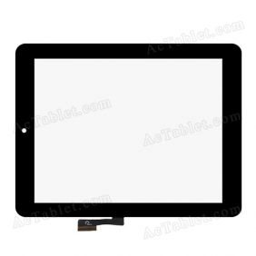 F0425 XDY1319 Digitizer Glass Touch Screen Replacement for 8 Inch MID Tablet PC