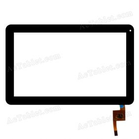 TOPSUN_F0004_A1 Digitizer Touch Screen Replacement for Visual Land 10.1 Inch MID Tablet PC