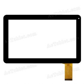 QSD E-C10055-01 Digitizer Glass Touch Screen Replacement for 10.1 Inch MID Tablet PC