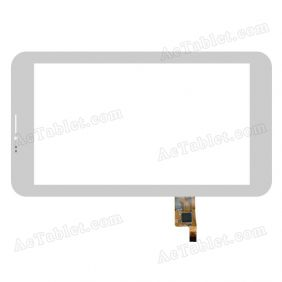 070458-01A-V2 Digitizer Glass Touch Screen Replacement for 7 Inch MID Tablet PC