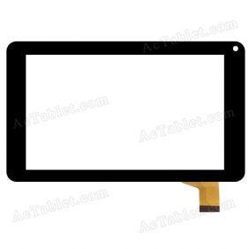 Digitizer Touch Screen Replacement for Point Of View Mobii P742C TAB-P742c Tablet PC