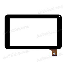ZHC-128B Digitizer Glass Touch Screen Replacement for 7 Inch MID Tablet PC