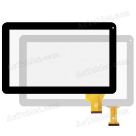Ftouch GT1010PD035 FHX Digitizer Touch Screen Replacement for 10.1 Inch MID Tablet PC