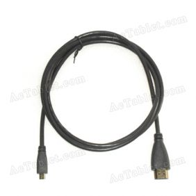 Micro HDMI (Typ D)  to HDMI (Typ A) Converter Cable for Android / Windows Tablet PC HDTV