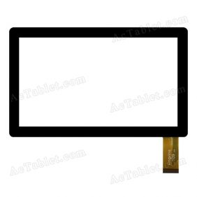 Kingvina 109 FHX Digitizer Glass Touch Screen Replacement for 7 Inch MID Tablet PC