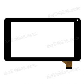 MF-709-070F-2 Digitizer Glass Touch Screen Replacement for 7 Inch MID Tablet PC