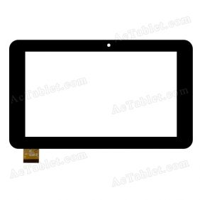 FPC-TP0707316-02 Digitizer Glass Touch Screen Replacement for 7 Inch MID Tablet PC