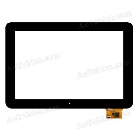 DPTech CY-1411 80701-0A4096G Digitizer Glass Touch Screen Replacement for 10.1 Inch MID Tablet PC