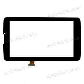 LT70065A2-FPC/CF726 Digitizer Glass Touch Screen Replacement for 7 Inch MID Tablet PC