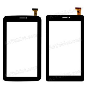 QL07 26 Digitizer Glass Touch Screen Replacement for 7 Inch MID Tablet PC