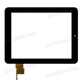 WGJ9717-V2 Digitizer Glass Touch Screen Replacement for 9.7 Inch MID Tablet PC