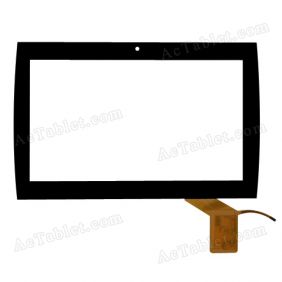 FA0A1T002-01 Digitizer Glass Touch Screen Replacement for 10.1 Inch MID Tablet PC