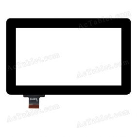 DPT-GROUP 300-R4039A-A00 Digitizer Glass Touch Screen Replacement for 7 Inch MID Tablet PC