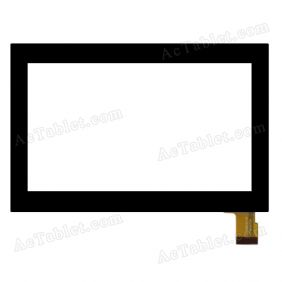 070001A-V2 V1 Digitizer Glass Touch Screen Replacement for 7 Inch MID Tablet PC