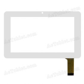 YDT1093-A2 Digitizer Glass Touch Screen Replacement for 7 Inch MID Tablet PC