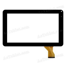 KHX-9004-A1 MJX Digitizer Glass Touch Screen Replacement for 9 Inch MID Tablet PC