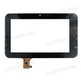 DPT 300-N3861A-A00 Digitizer Glass Touch Screen Replacement for 7 Inch MID Tablet PC