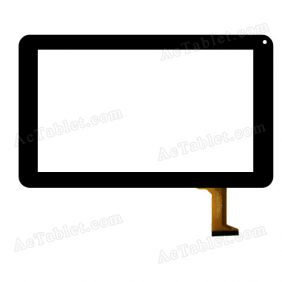 DH-0926A1-PG-FPC080-V4.0 Digitizer Glass Touch Screen Replacement for 9 Inch MID Tablet PC