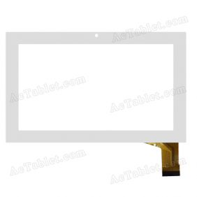 XN1266V1 Digitizer Glass Touch Screen Replacement for 7 Inch MID Tablet PC