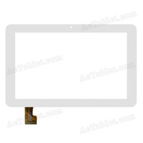 TYF1096V1 Digitizer Glass Touch Screen Replacement for 7 Inch MID Tablet PC