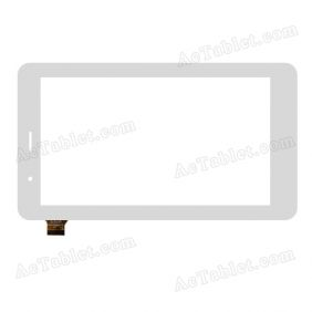 YTG-P70029-F5 Digitizer Glass Touch Screen Replacement for 7 Inch MID Tablet PC