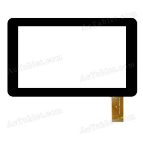 WJ-DR70021 V2.0-FPC Digitizer Glass Touch Screen Replacement for 7 Inch MID Tablet PC