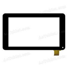 JQFP07009A FHX Digitizer Glass Touch Screen Replacement for 7 Inch MID Tablet PC