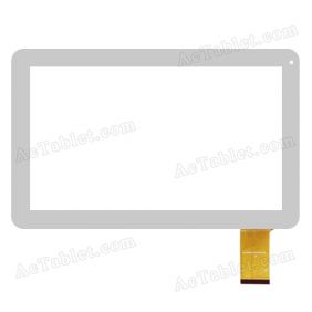 XC-PG1010-015-FPC-A1 Digitizer Glass Touch Screen Replacement for 10.1 Inch MID Tablet PC