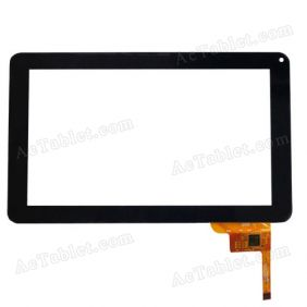 QSD E-C97008-02 Digitizer Glass Touch Screen Replacement for 9 Inch MID Tablet PC