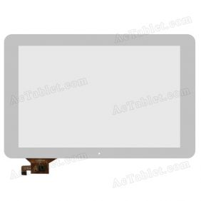 QSD E-C100016-02 Digitizer Glass Touch Screen Replacement for 10.1 Inch MID Tablet PC
