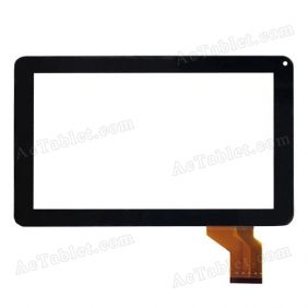 SX-0711 JHET Digitizer Glass Touch Screen Replacement for 9 Inch MID Tablet PC