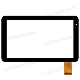C.FPC.WT1051A101V00 Digitizer Glass Touch Screen Replacement for 10.1 Inch MID Tablet PC