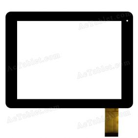 QSD E-C8027-01 Digitizer Glass Touch Screen Replacement for 8 Inch MID Tablet PC