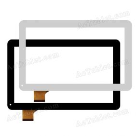 YCF0464 Digitizer Touch Screen Replacement for 10.1 Inch Android Tablet PC