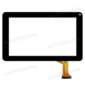 H-090-001-B FPC Digitizer Glass Touch Screen Replacement for 9 Inch MID Tablet PC