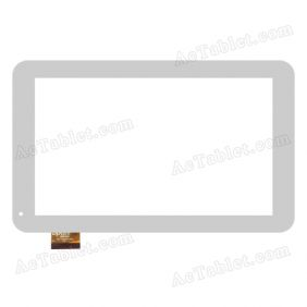 Touch Screen Replacement for Majestic TAB-0493 3G Dual Core MTK8312 9 Inch Tablet PC