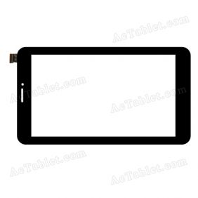 C187103A1 FPC725DR Digitizer Glass Touch Screen Replacement for 7 Inch MID Tablet PC