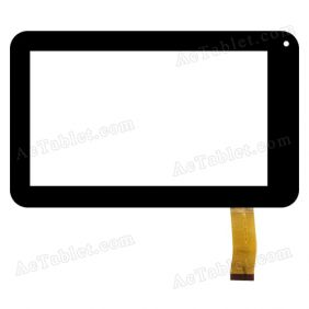 SX-0714B-FPC Digitizer Glass Touch Screen Replacement for 7 Inch MID Tablet PC