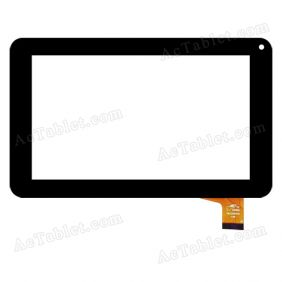 SLC07003C Digitizer Glass Touch Screen Replacement for 7 Inch MID Tablet PC