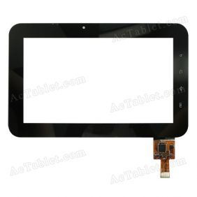 300-L3497C-A00_VER1.1 Digitizer Glass Touch Screen Replacement for 7 Inch MID Tablet PC