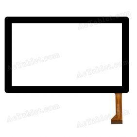 CZY340C01-FPC Digitizer Glass Touch Screen Replacement for 7 Inch MID Tablet PC