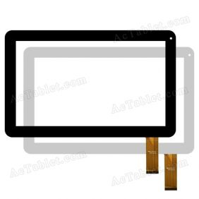 "Digitizer Touch Screen Replacement for PolyPad D10 Dual Core 10.1"" Inch Tablet PC"