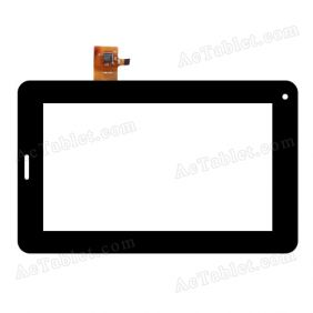 WGJ7360-V2 Digitizer Glass Touch Screen Replacement for 7 Inch MID Tablet PC