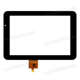 F-WGJ70401-V2 Digitizer Glass Touch Screen Replacement for 7 Inch MID Tablet PC