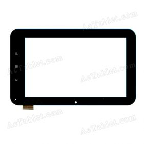 TPT-070-082-2 Digitizer Glass Touch Screen Replacement for 7 Inch MID Tablet PC